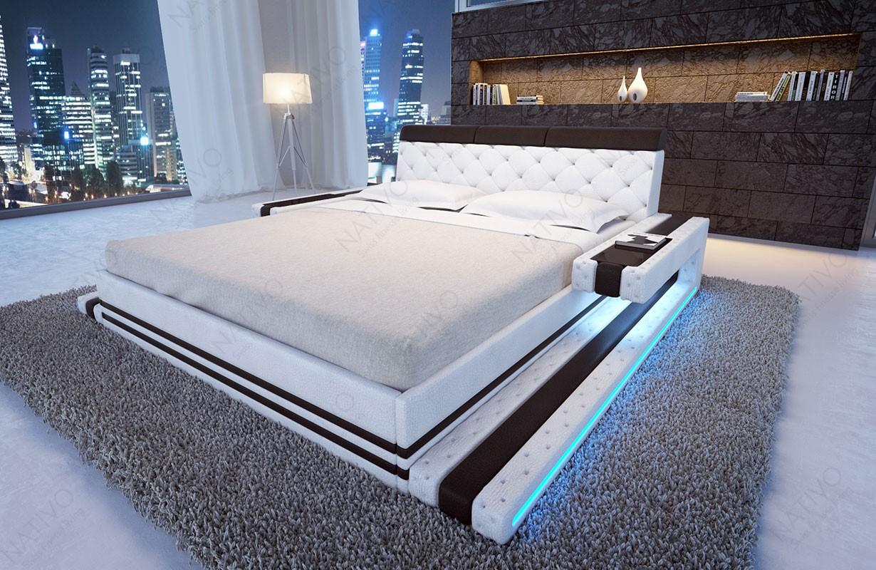IMPERIAL kárpitozott ágy LED világítással