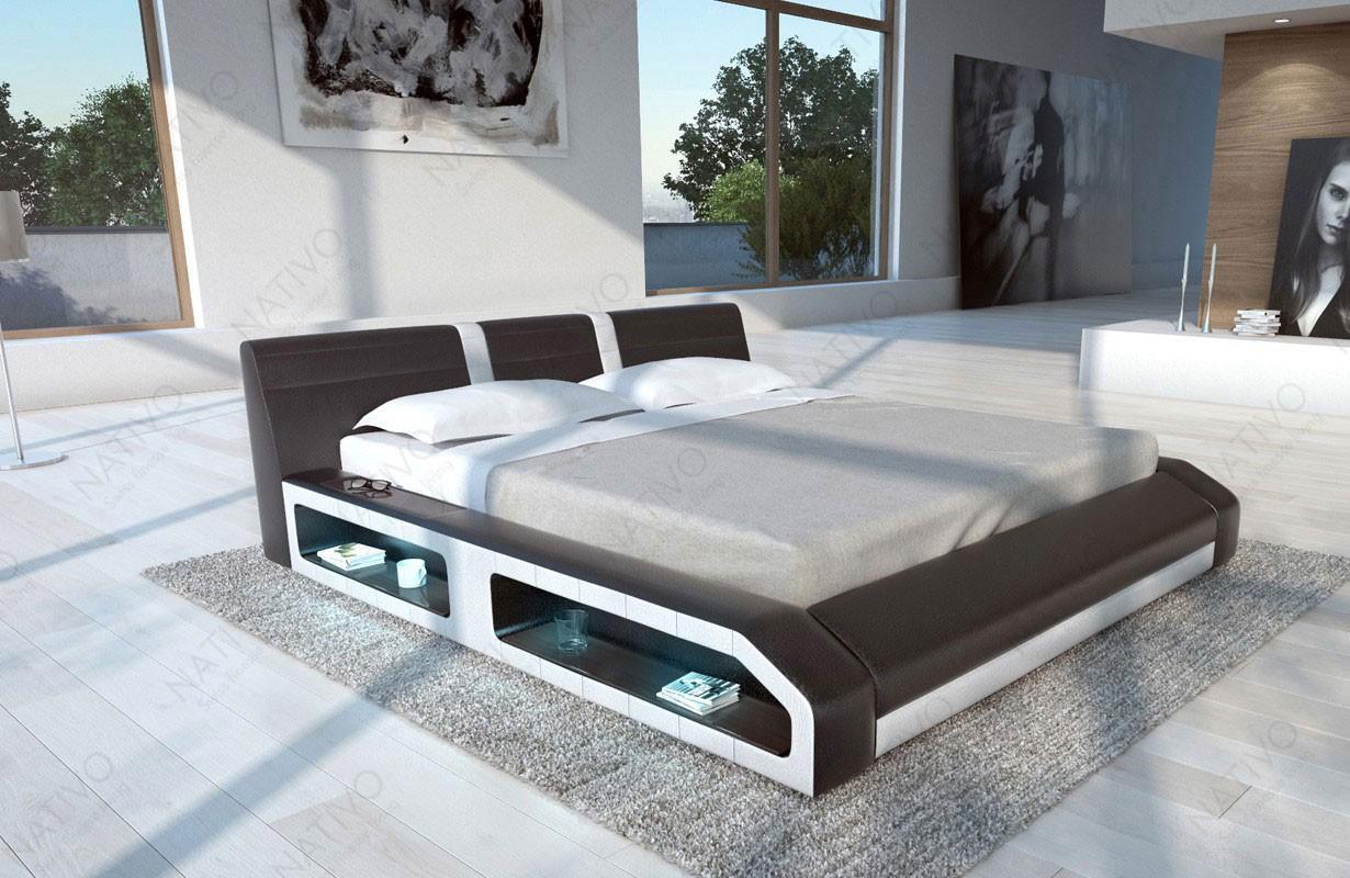 FLOYD kárpitozott ágy LED világítással