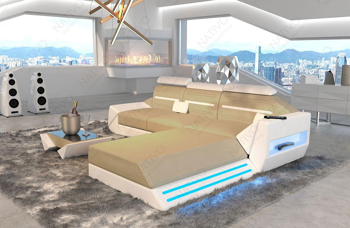 AVATAR MINI dizájn kanapé LED világítással és USB csatlakozóval