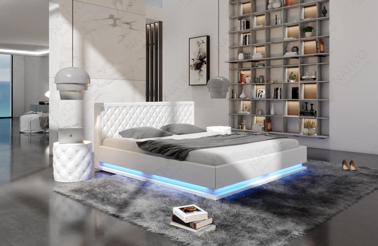 MATRIX kárpitozott ágy világítással by ©iconX STUDIOS
