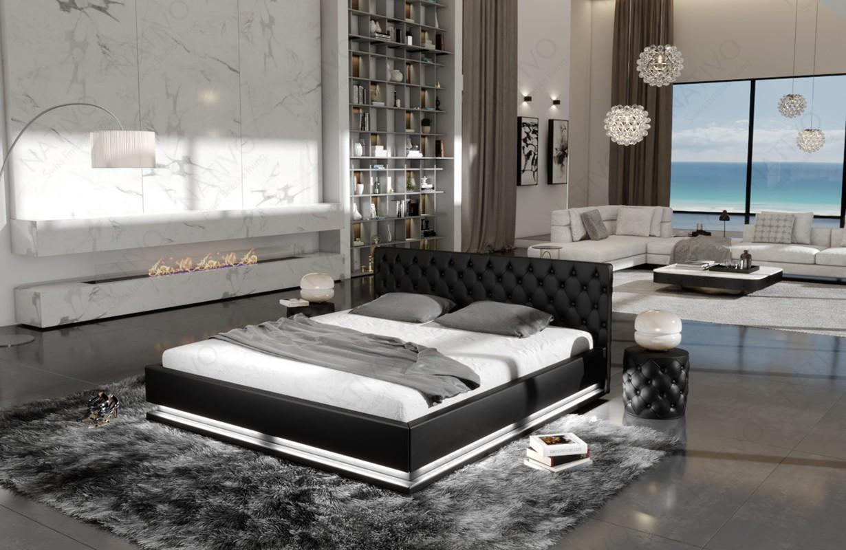 MAVEN kárpitozott ágy világítással by ©iconX STUDIOS