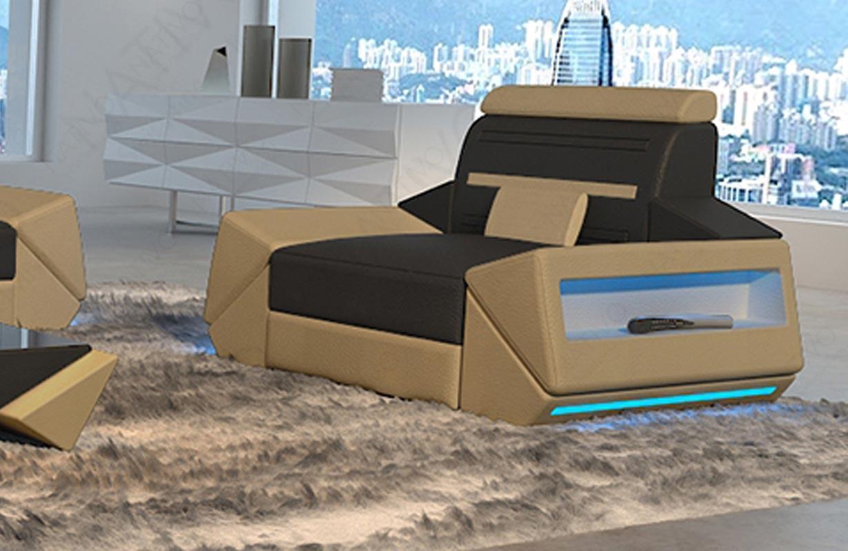 AVATAR dizájn fotel LED világítással és USB csatlakozóval