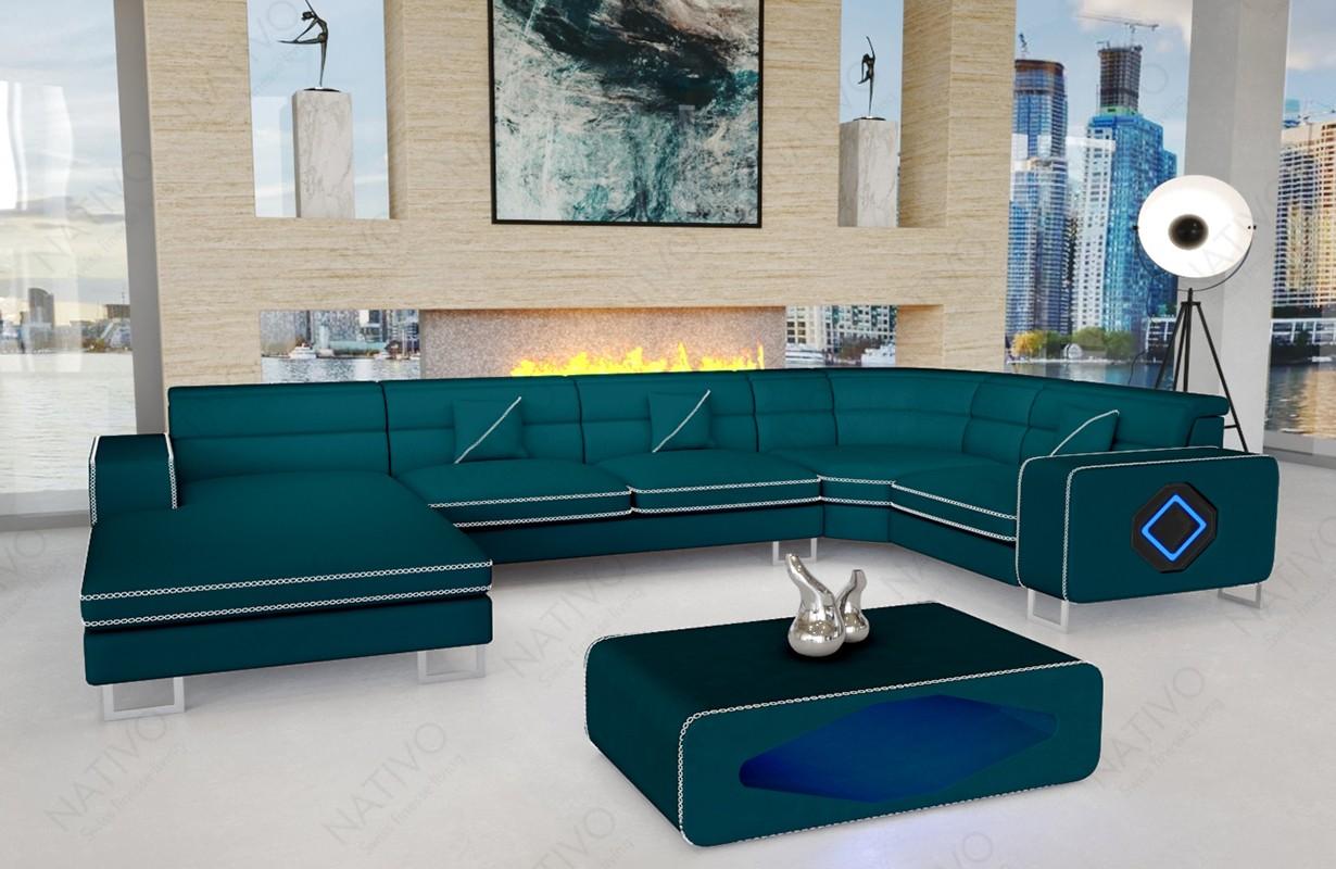 GREGORY XL dizájn kanapé LED világítással