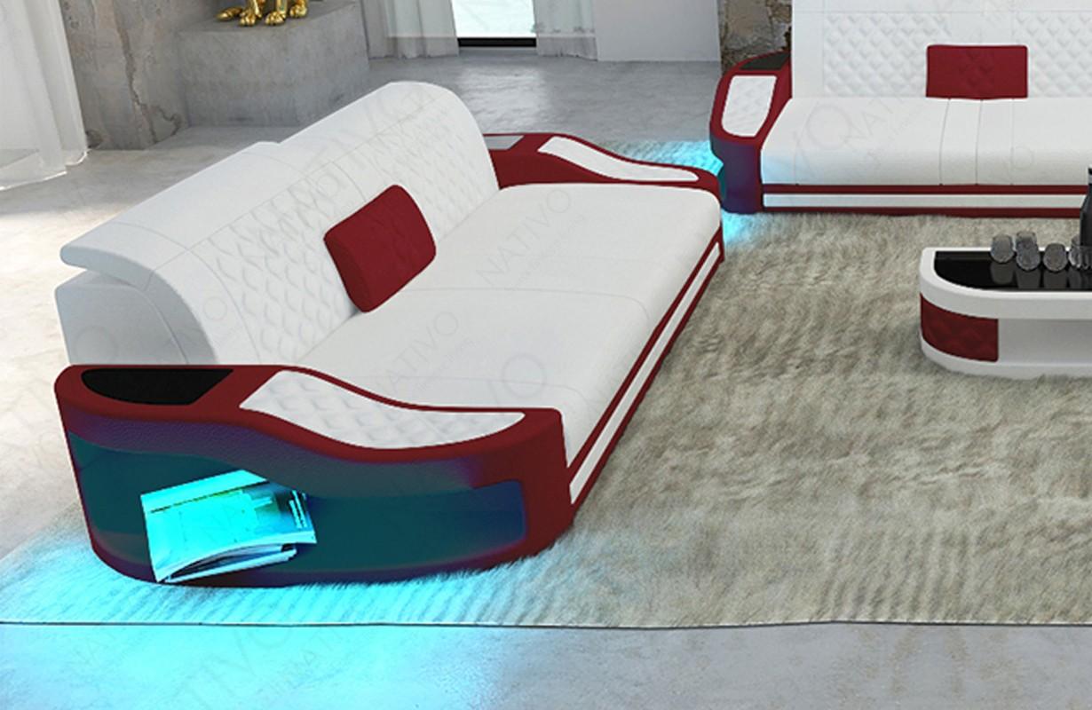 DIABLO 2 üléses dizájn kanapé LED világítással és USB csatlakozóval
