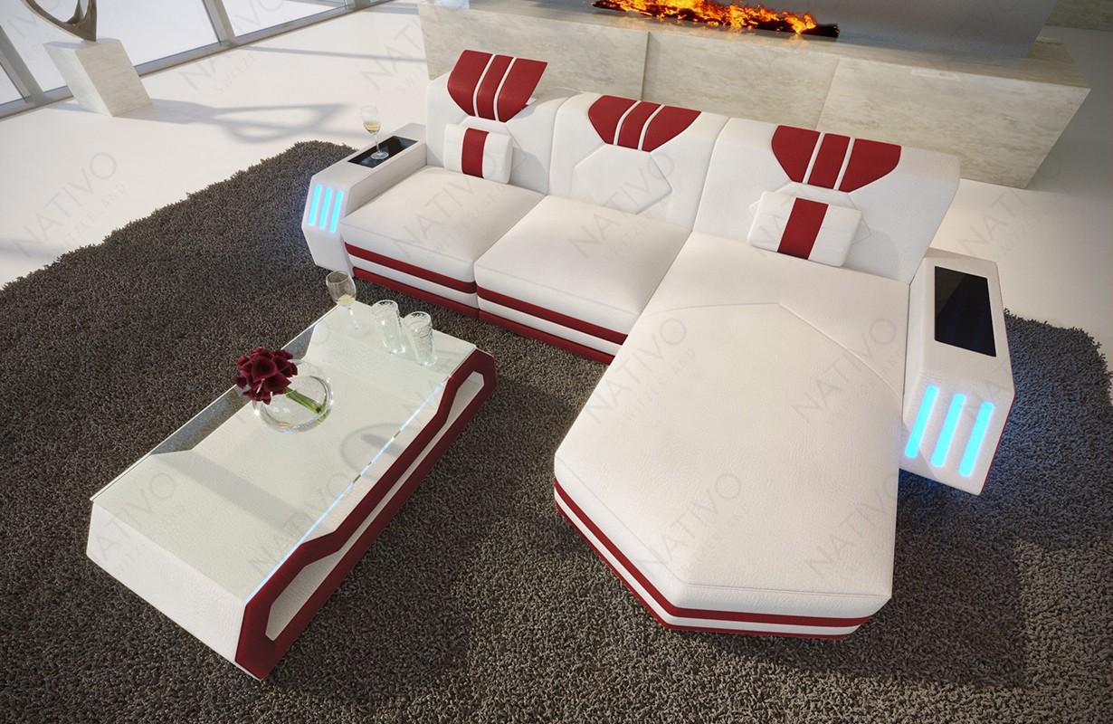 CLERMONT MINI dizájn kanapé LED világítással